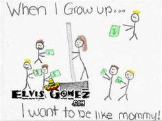 Homework Fail: Mommy is a stripper