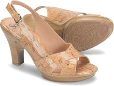 Sofft Portia in Natural. Heel Height: 3.5""