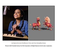 """I have yet to watch the new ice age, but I can't wait to see Lilly's voice as the minicorns!-""""It's the closest to motherhood I'll ever get"""" Ice Age Collision Course, Lily Singh, Adam Devine, All Movies, Looney Tunes, Family Guy, Songs, Fictional Characters, Watch"""