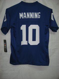38.99 2012-2013 Season Eli Manning New York Giants Blue NFL Youth Jersey   Amazon.com  Clothing 5b2d83a88
