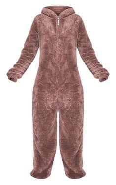 Reindeer Onesie   Coats   PrettyLittleThing IE Disney Onesies, Reindeer Onesie, Cuddle Duds, Teddy Bear Clothes, Fuzzy Blanket, Pajama Outfits, Catsuit, Stay Warm, Halloween Costumes