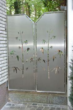 Charmant Edelstahl Sichtschutz.: Moderner Garten Von Edelstahl Atelier Crouse    Stainless Steel Atelier