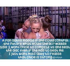 Maddie fact ( don't know if it's actually true)