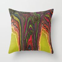 Throw Pillows by Jodi Bee | Society6, $20. Potency of the Nectar (Secret Message)