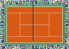 El juego de tenis: Las planchas soplo ideales para trabajar mediante el juego. Descargables Gratis en http://bloghoptoys.es/las-planchas-soplo/