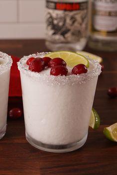 Drink Margaritas Year Round With White Christmas Margaritas - Cosmopolitan.com