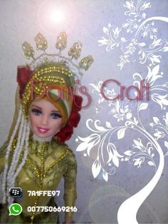 Wedding Hijab Doll, make your Mahar beautiful