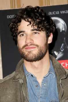 @DarrenCriss at the 'Ex Machina' New York premiere on April 6, 2015.