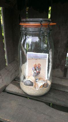 Souvenirpotje uit Zeeland :) (inspiratie van pinterest)