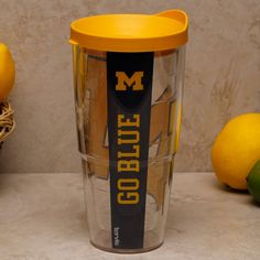 Tervis Tumbler Michigan Wolverines Colossal 24oz. Wrap Tumbler Pro with Lid