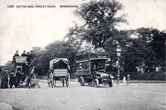 Old Postcard, Birmingham, Hagley Road