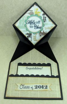 Luv Scrapping Together: Graduation Card