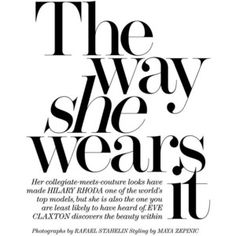 The Edit (Net-A-Porter Magazine)