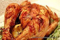 Desafios Gastronômicos: DESAFIO: Experimentar a receita do Frango Assado Perfeito, do Jamie Oliver!