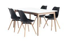 Jedilniške garniture v različnih stilih in kombinacijah Dining Chairs, Furniture, Home Decor, Decoration Home, Room Decor, Dining Chair, Home Furnishings, Home Interior Design, Dining Table Chairs