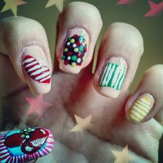 Candy crush nails.