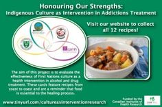 Meat Stew recipe by Delphine Whitehawk from the Saulteaux Healing & Wellness Centre in Saskatchewan for the Honouring Our Strengths: Indigenous Culture as Intervention in Addictions Treatment (HOS:CasI) project Gambling Addiction, 12 Recipe, Food Shows, Recipe Cards, Stew, Card Games, Centre, Good Food, Healing