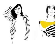Dutch fashion illustrator: Judith Van Den Hoek