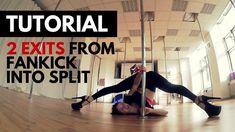 Tutorial: Fan Kick Into Split Exit (2 Variations)