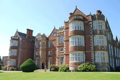 Burton Agnes Hall in North Yorkshire. Jacobean house built 1599 and open to Visitors.
