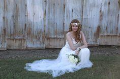 Gown from #GlitzNash @GlitzNash (Angie Howington Photography) (Hair Kyle Kressin; MUA Tara Thomas; Model Madalyn Vines) (Wilson Family Farm, Tennessee) http://glitznashville.com