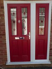 1000 images about front door ideas on pinterest solid for Coloured upvc doors