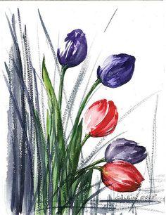 tulips by gulbin
