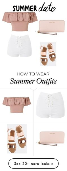 This is such a comfortable outfit. You can be very comfortable and still look hot. by londongooch on Polyvore featuring Miss Selfridge, Topshop and MICHAEL Michael Kors