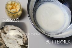 www.baharatingram.com da tereyagi,buttermilk,crème fraiche,crème fleurette ve sour cream hakkinda hersey...