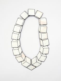 Christoph Straube - Necklace (sterling silver and enamel)