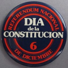 """""""Referéndum nacional. Día de la Constitución 6 de diciembre"""". Campanya per al Referèndum de ratificació de la Constitució Espanyola, celebrat el 6 de desembre de 1978"""