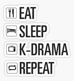 """""""only kdrama"""" Stickers by dexta Kpop Stickers, Korean Stickers, Printable Stickers, Cute Stickers, Korean Drama Funny, Kdrama Memes, Kim Jisoo, Aesthetic Stickers, Design Quotes"""