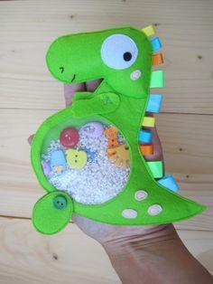 I Spy Bag Dinosaur Quiet Toy Sensory Toy I Spy by GanniQuietBooks