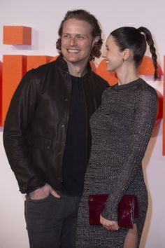 Here are 30 HQ Pics of Caitriona Balfe & Sam Heughan at the World Premiere of Trainspotting. More after the jump! Outlander News, Outlander Book Series, Sam Hueghan, Sam And Cait, Sam Heughan Caitriona Balfe, Sam Heughan Outlander, James Fraser Outlander, Jamie Fraser, Claire Fraser