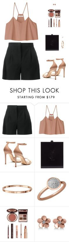 """Sin título #4719"" by mdmsb on Polyvore featuring moda, Alberta Ferretti, TIBI, Yves Saint Laurent, Links of London, Charlotte Tilbury y Allurez"