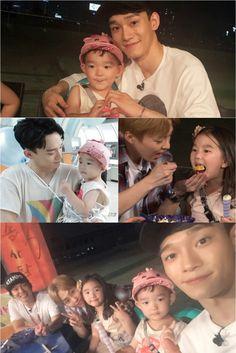 160916 #Chen #Xiumin #EXO #LeeDaeul #LeeSoeul #LeeBumsoo - The return of superman