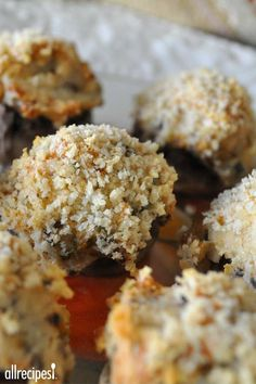 """Mouth-Watering Stuffed Mushrooms 