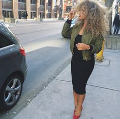 """Ladies never forget you are """"bea -YOU -tiful."""" Curly hair inspiration. Follow us on Pinterest: @autumnblazesing"""