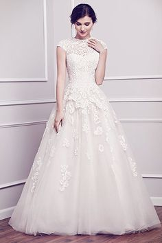 Bridal Gowns and Wedding Dress Shop Colorado Springs, Colorado. Plus size Wedding dresses and bridal gowns from Danelle's Bridal Boutique Salon. Designer Wedding Gowns near Pueblo Modest Wedding Dresses, Wedding Dress Styles, Wedding Attire, Bridal Dresses, Wedding Gowns, Bridesmaid Dresses, Lace Dresses, Conservative Wedding Dress, Prom Dresses