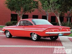1961 Chevrolet Bel Air Sport Coupe hot rod classic cars muscle q