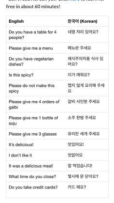 Korean Verbs, Korean Phrases, Korean Words Learning, Korean Language Learning, Korean Handwriting, Learn Korean Alphabet, Korean English, Learn Hangul, Korean Writing