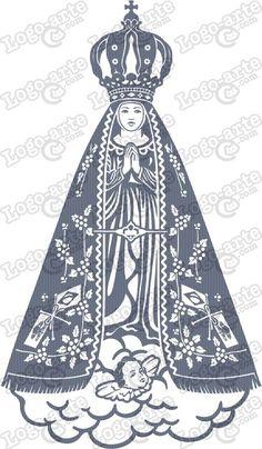 riscos de desenhos catolicos nossa senhora - Pesquisa Google: