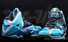 "Nike LeBron 11 ""Gamma Blue"" (New Photos) 