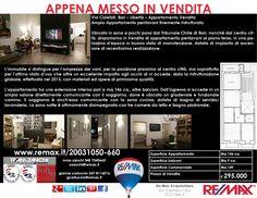 Appena Messo in Vendita Bari, Via Calefati (altezza Tribunale Civile) Ampio Appartamento pentavani finemente ristrutturato www.remax.it/20031050-660 info 348 7340665