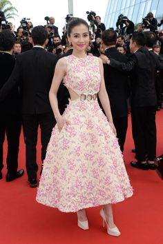 The best of the 2015 Cannes Film Festival red carpet: Angelababy in Christian Dior Couture.