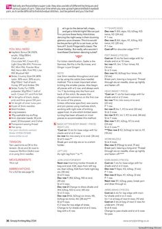 Simply Knitting №120 2014 - 紫苏 - 紫苏的博客