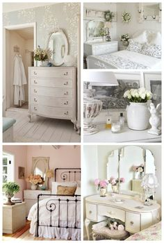 Kuzak's Closet Bedroom Inspiration: Shabby Chic