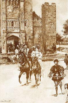 Hawking with Anne Boleyn