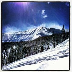 Snowboarding in Montana, Cali, Vermont, Colorado...fresh powder and no southeast ice and slush!