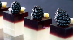 Too beautiful to eat - I may have found my next food photography adventure... the Bramble Jelly Shot.